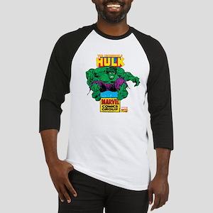 Hulk Marvel Logo Baseball Jersey