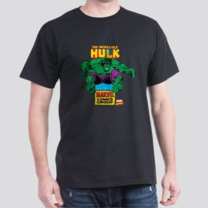 Hulk Marvel Logo Dark T-Shirt