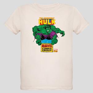Hulk Marvel Logo Organic Kids T-Shirt