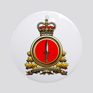 Special Operations Command Round Ornament