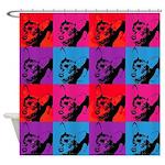 Chihuahua Pop Art Shower Curtain