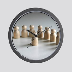 Talking To The Men Wall Clock