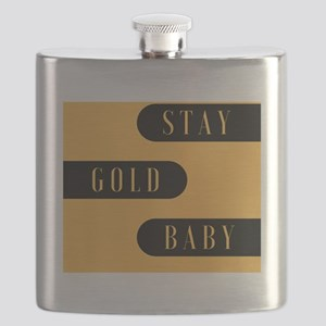 Stay Gold Baby Flask