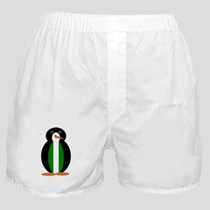 Penguin Flag Nigeria Boxer Shorts
