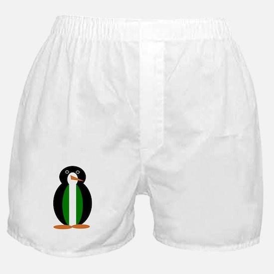 Penguin Flag Nigeria Boxer Shorts