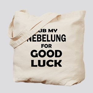 Rub my Nebelung for good luck Tote Bag