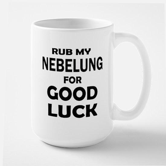 Rub my Nebelung for good Mug