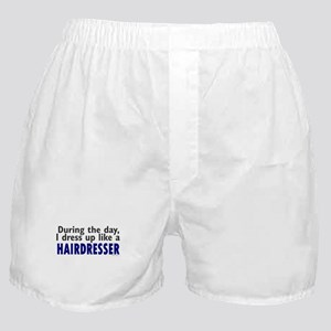 Dress Up Like A Hairdresser Boxer Shorts