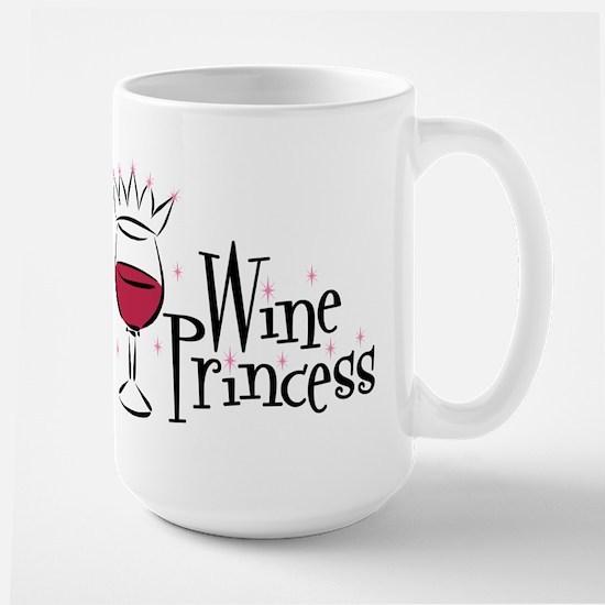 Wine Princess Large Mug