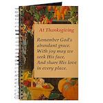 At Thanksgiving Poem Journal
