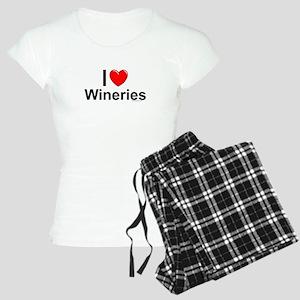 Wineries Women's Light Pajamas