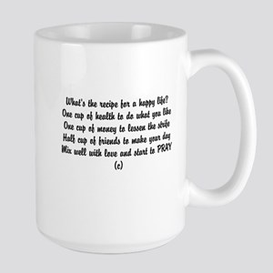 Funny poem happiness Mugs