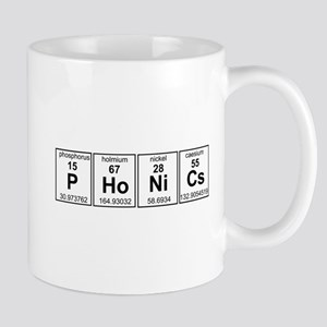 Phonics Periodic Element Mugs