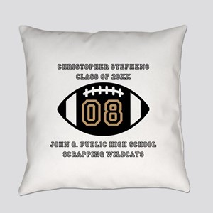 Custom Football Player Name | Clas Everyday Pillow