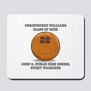 Custom Basketball Player Name | Number | Mousepad