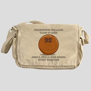 Custom Basketball Player Name   Numb Messenger Bag