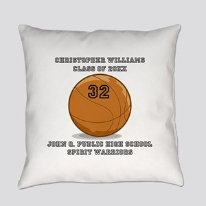 Custom Basketball Player Name | Nu Everyday Pillow