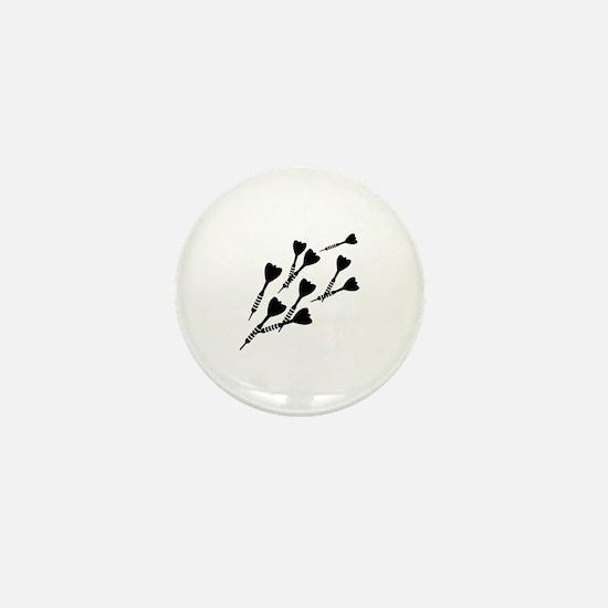 Darts sports Mini Button
