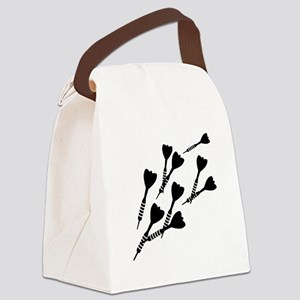 Darts sports Canvas Lunch Bag