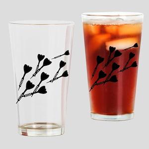 Darts sports Drinking Glass