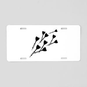 Darts sports Aluminum License Plate