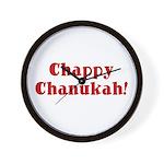 Chappy Chanukah Wall Clock