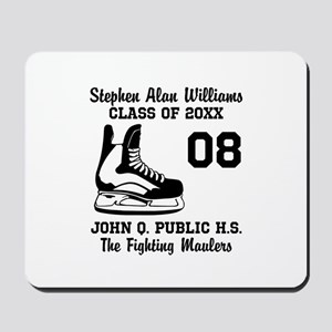 Custom Hockey Player Name | Number | Tea Mousepad