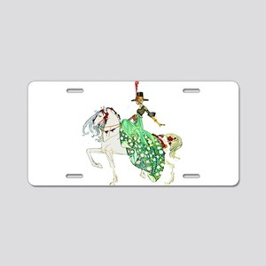 Kay Nielsen - Princess Mino Aluminum License Plate