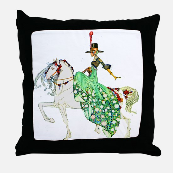 Kay Nielsen - Princess Minotte Throw Pillow