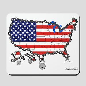Homeland Security Mousepad