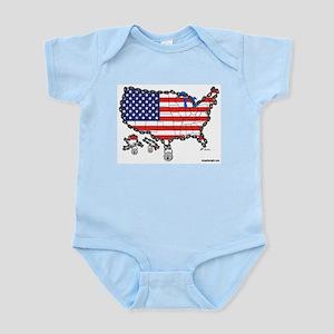 Homeland Security Infant Creeper