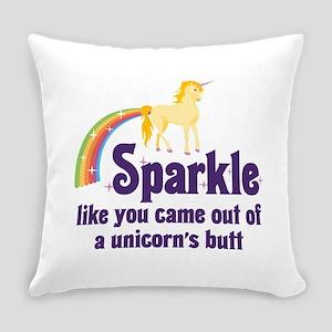 Unicorn Butt Everyday Pillow