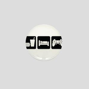 Eat Sleep Game Mini Button