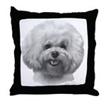 Bichon Frisé Throw Pillow