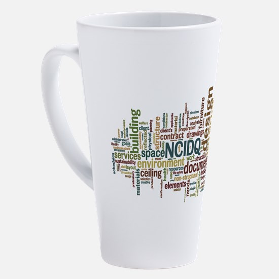Unique Design 17 oz Latte Mug