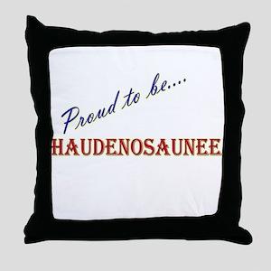 Haudenosaunee Throw Pillow