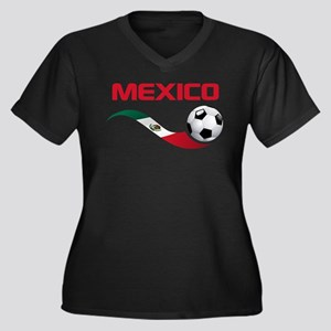 Soccer MEXICO Plus Size T-Shirt