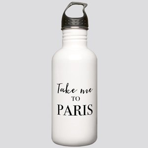 Take me to Paris Water Bottle
