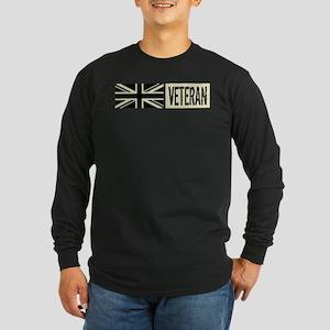 British Military: Veteran Long Sleeve Dark T-Shirt