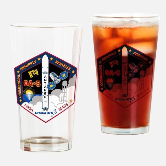 OA-5 Program Logo Drinking Glass