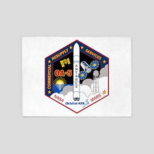OA-5 Program Logo 5'x7'Area Rug