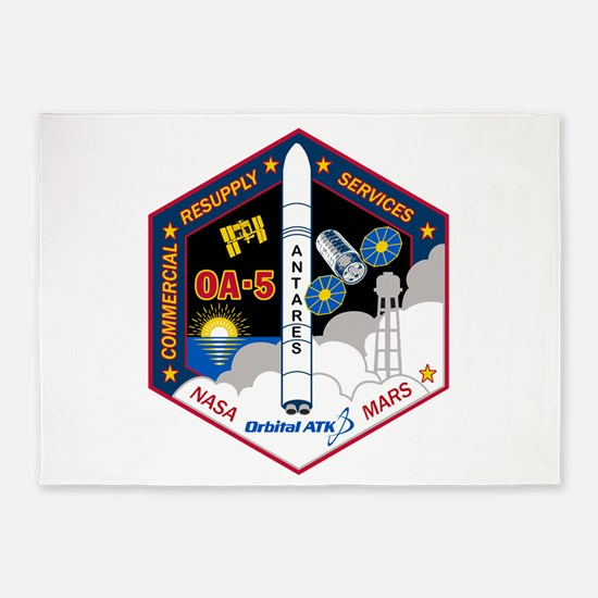 OA-5 Program Logo 5'x7'Area Rug