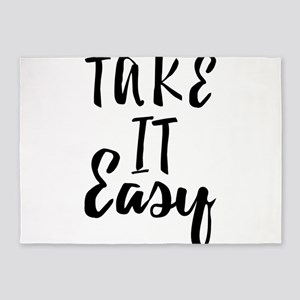 Take it Easy 5'x7'Area Rug