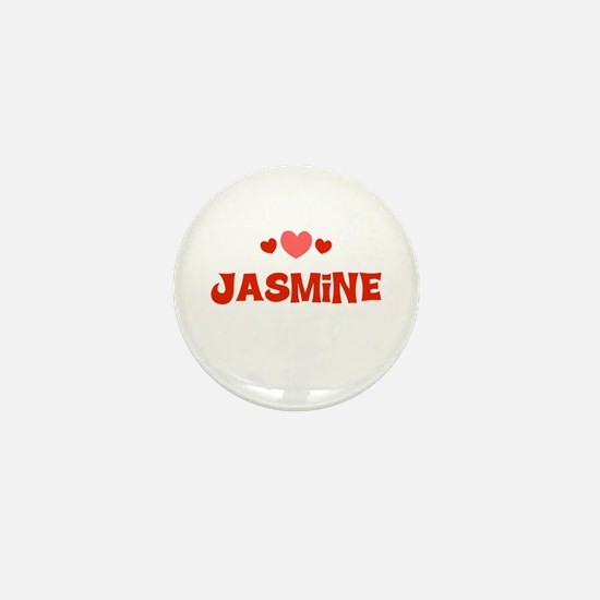 Jasmine Mini Button