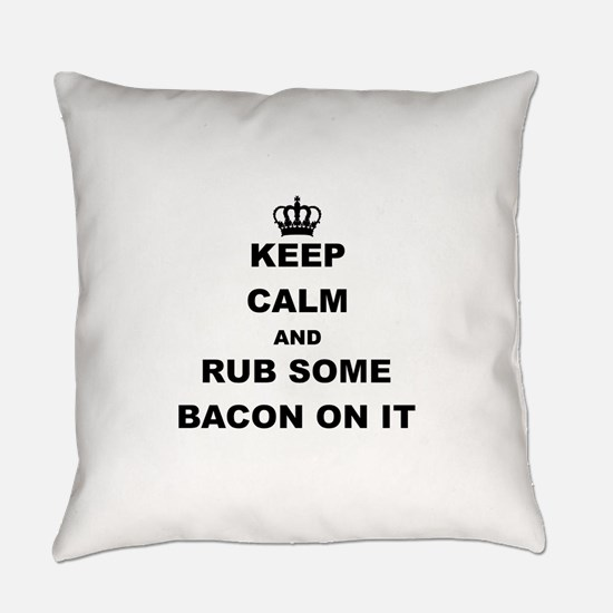 Cute Bacon Everyday Pillow