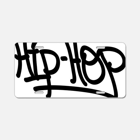 Cute Hip hop Aluminum License Plate