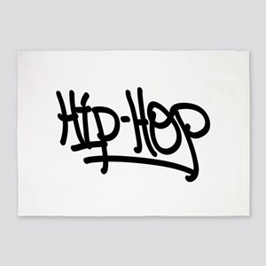 Hip-Hop 5'x7'Area Rug