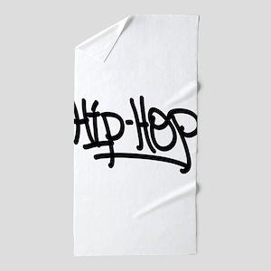Hip-Hop Beach Towel