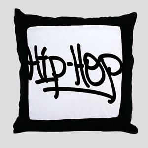 Hip-Hop Throw Pillow