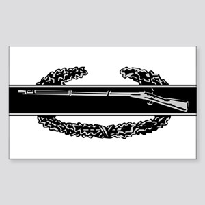 Combat Infantry Badge Rectangle Sticker